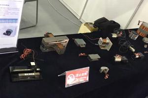展会音圈电机产品展示