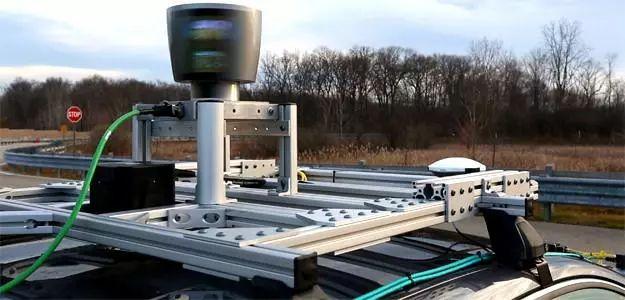 激光雷达扫描