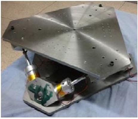 六自由度微振音圈电机平台