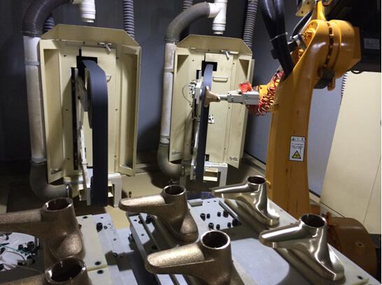 机器人磨抛复杂曲面表面光整加工