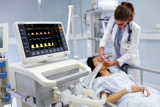 精密音圈电机驱动呼吸机气缸阀主动往返运动应用