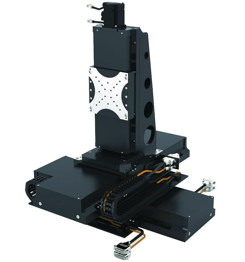同茂XYZ三轴高精密直线电机平台模组